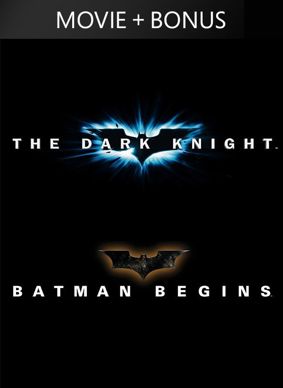 Batman Begins/The Dark Knight (plus bonus features)