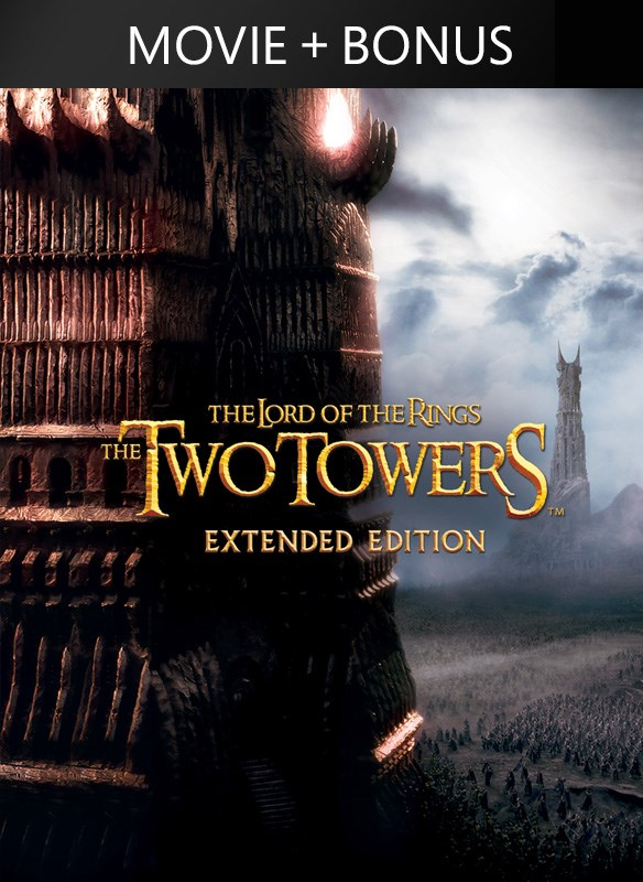 The Lord of the Rings: The Two Towers EXTENDED CUT + Bonus ...