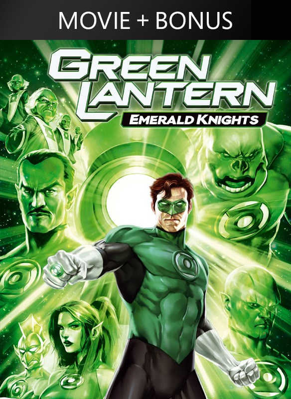 Green Lantern: Emerald Knights (plus bonus features!)