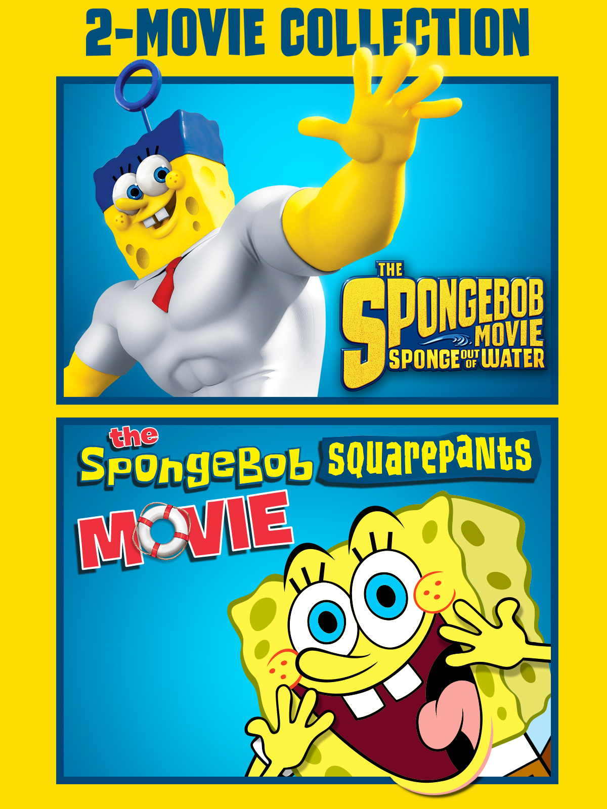 The Spongebob Squarepants Double Feature (Plus Bonus Con ...