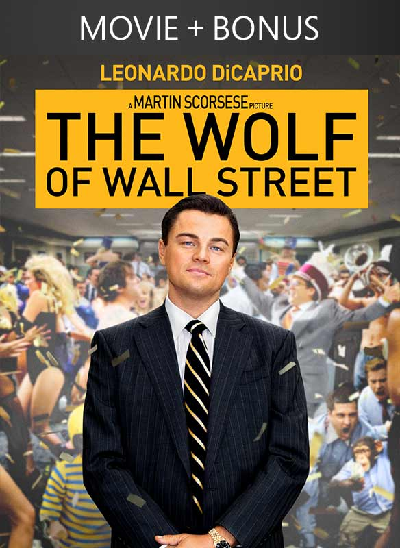 The Wolf of Wall Street (plus bonus content)