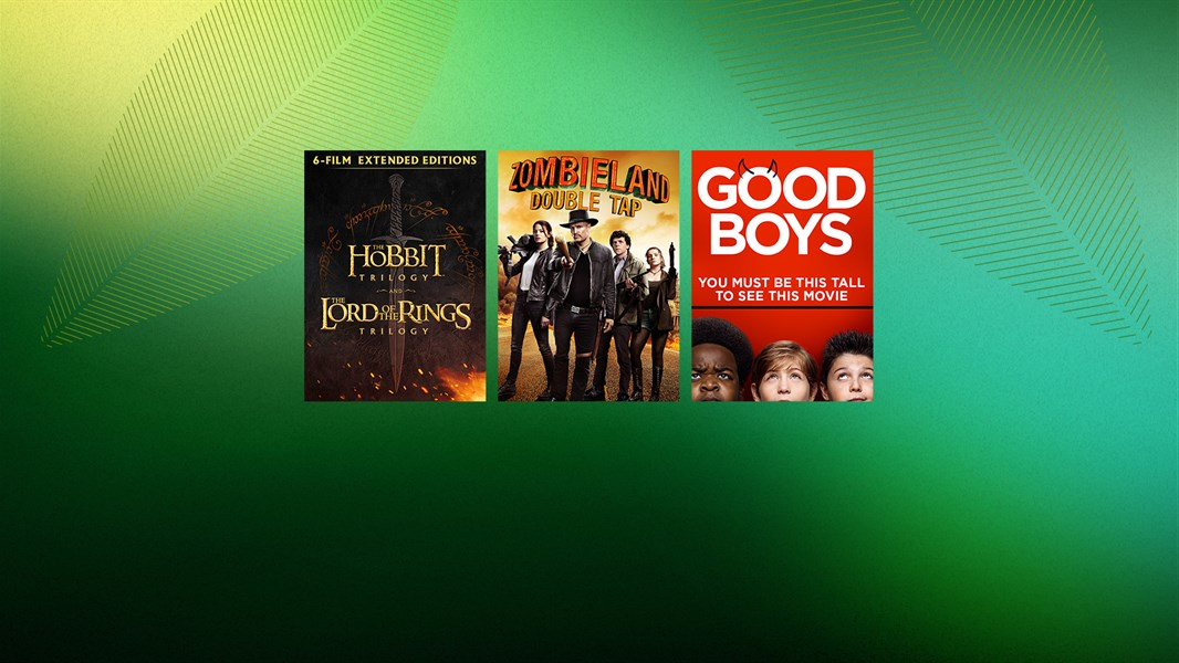 Up to 40% off movies and TV
