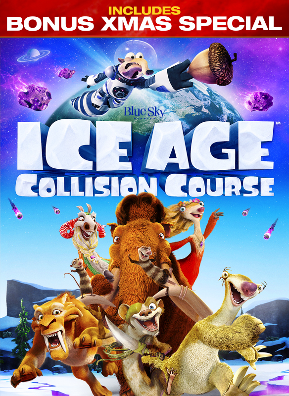 Ice Age: Collision Course + Mammoth Christmas Special Bonus Offer