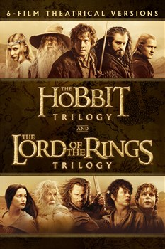 Middle Earth Theatrical 6 Film Collection