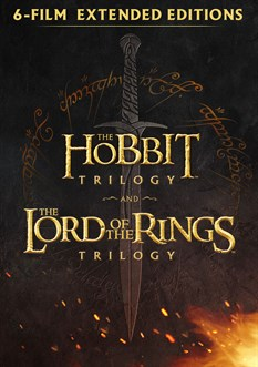 Middle Earth Extended Editions 6 Film Collection (Digital HD)
