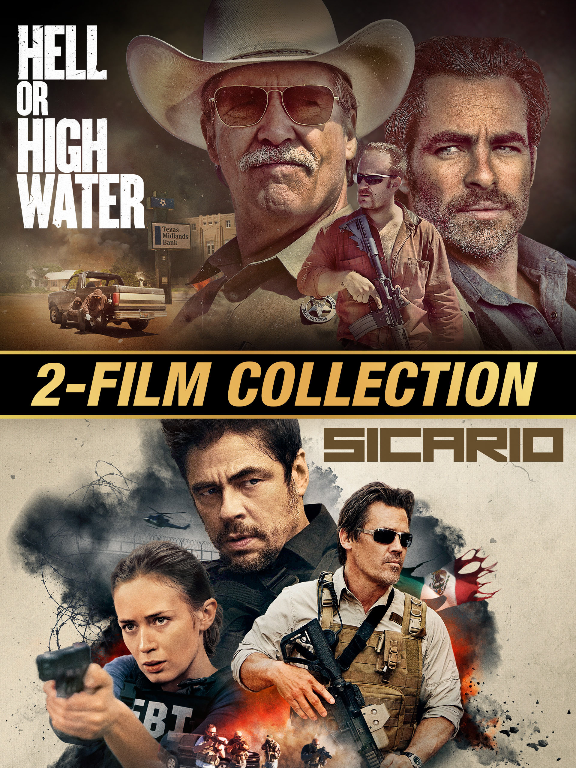 Hell or High Water / Sicario Double Feature