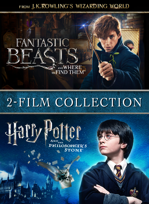 Fantastic Beasts and Where to Find Them & Harry Potter and the Philosopher's Stone