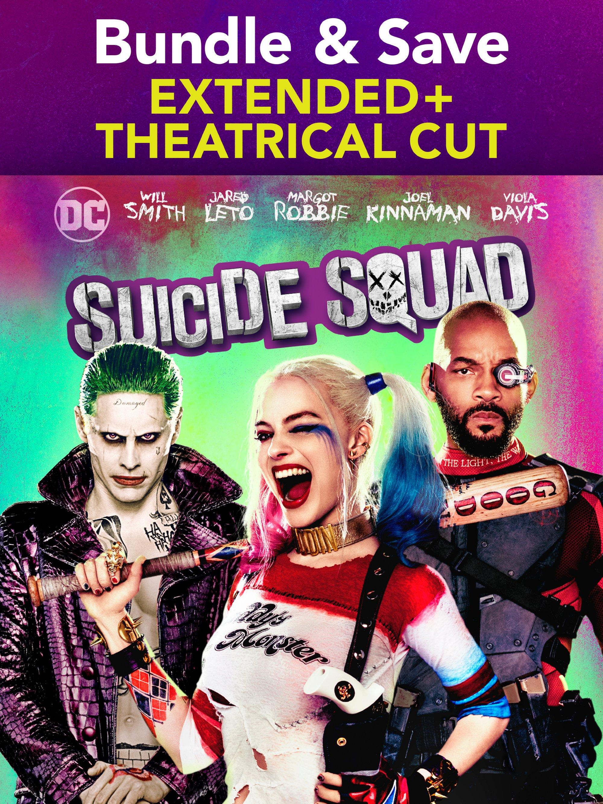 Suicide Squad Extended Cut + Bonus
