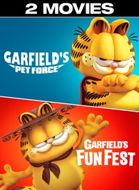 buy garfield s pet force garfield s fun fest 2 movies microsoft store. Black Bedroom Furniture Sets. Home Design Ideas