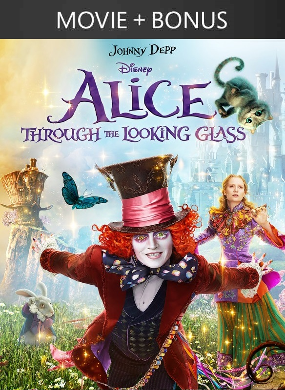Alice Through the Looking Glass (2016) + Bonus