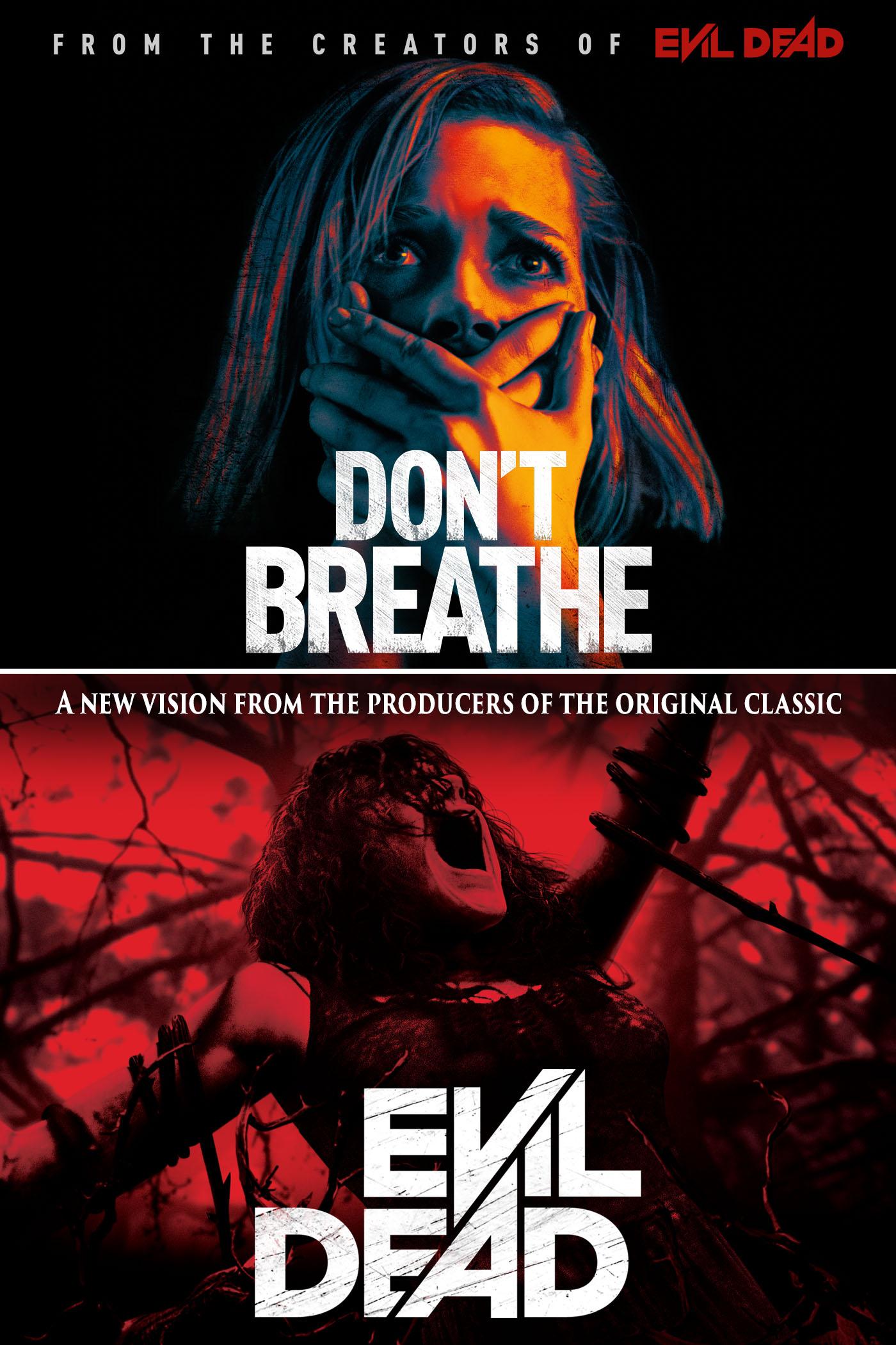 Don't Breathe / Evil Dead (UNRATED) Bundle