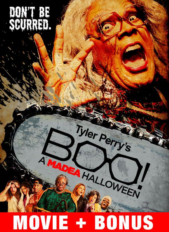 Tyler Perry's Boo! A Madea Halloween + Bonus