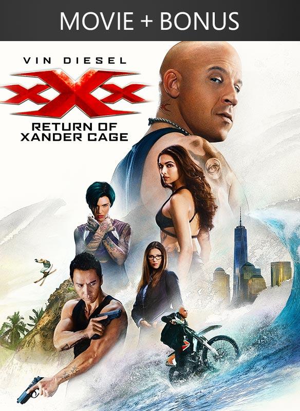 XXX: Return of Xander Cage + Bonus