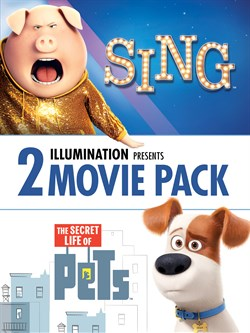 Sing/The Secret Life of Pets 2 Film Bundle