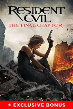 Resident Evil: The Final Chapter (+Exclusive Bonus)