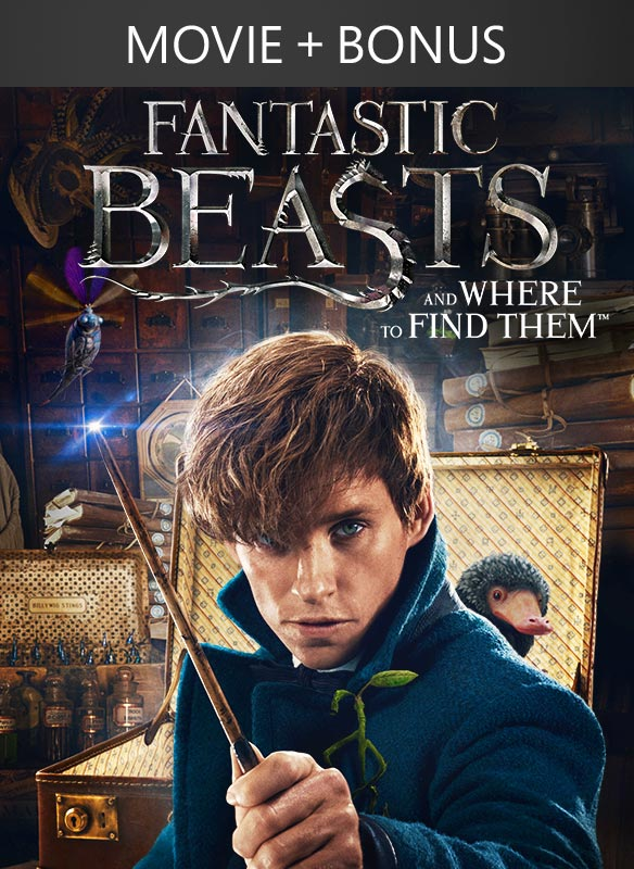 Fantastic Beasts and Where to Find Them + Bonus