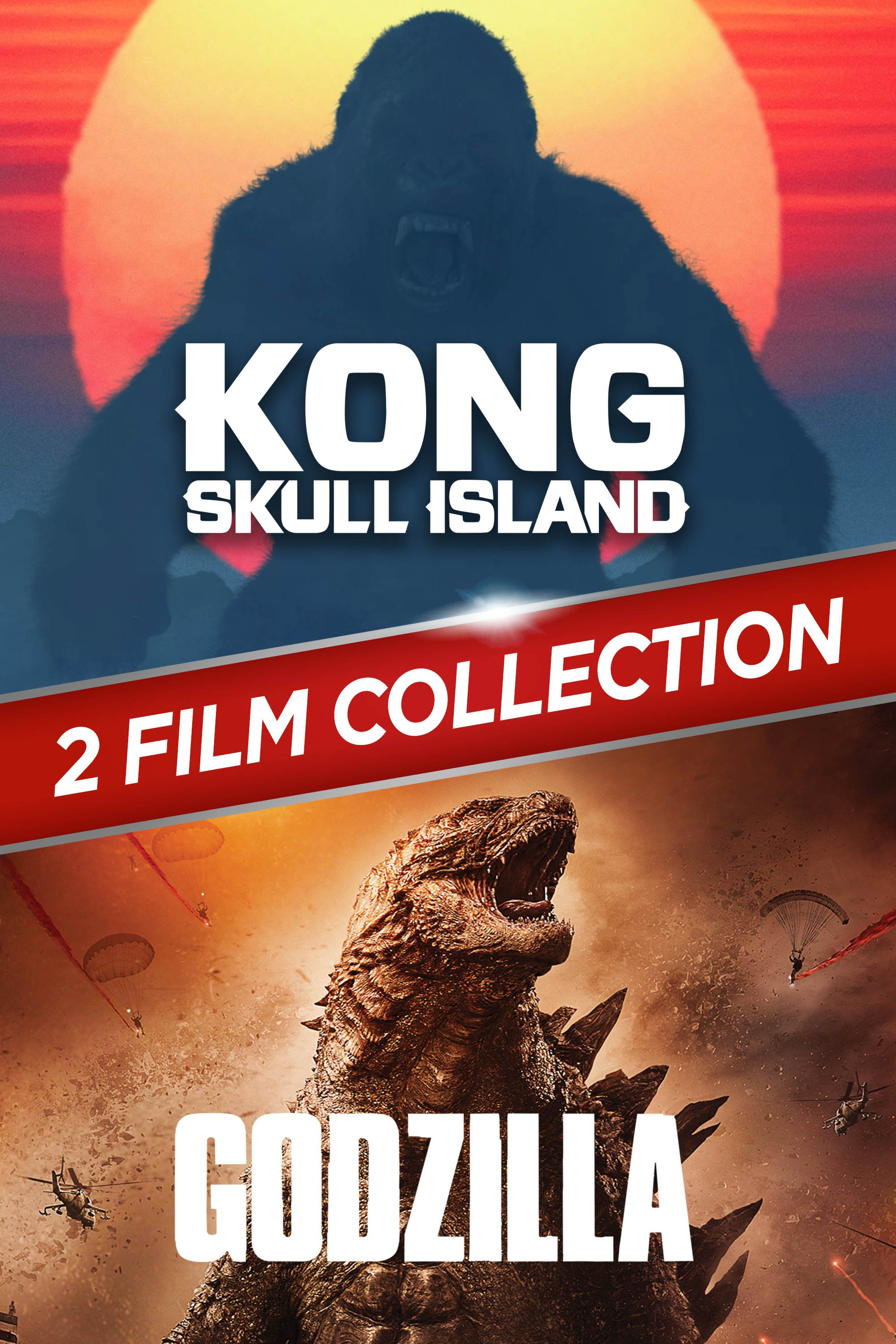 Kong: Skull Island + Godzilla 2-Film Collection