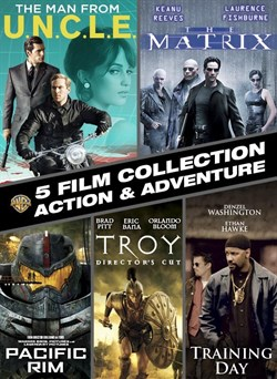 5 Film Action & Adventure Collection