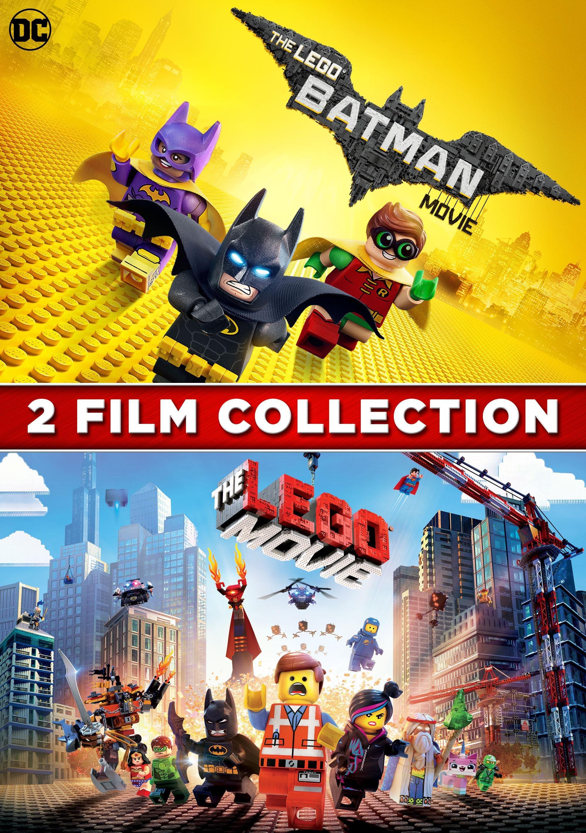 The LEGO Batman Movie + The LEGO Movie (2pk)