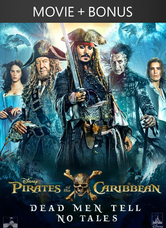 Pirates of the Caribbean: Dead Men Tell No Tales + Bonus