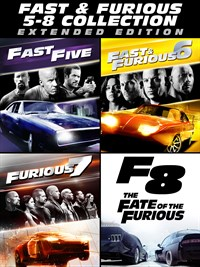 Fast & Furious: 5 - 8 Collection (Extended)