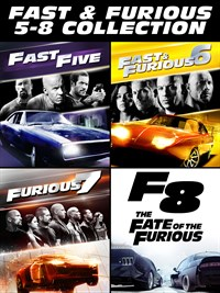 Fast & Furious: 5 - 8 Collection