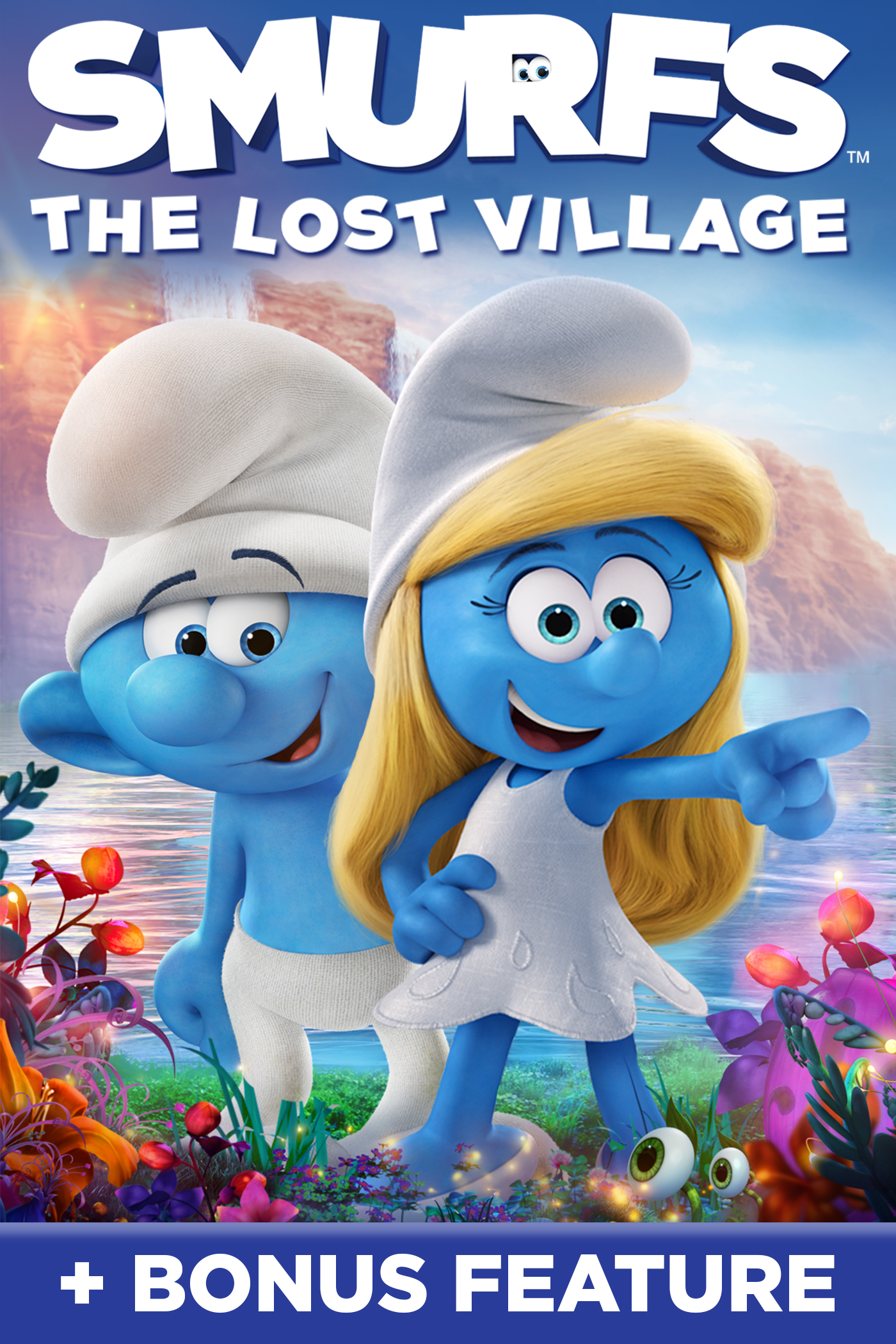 Smurfs The Lost Village + Bonus