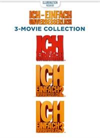 Ich – Einfach Unverbesserlich: 3-Movie Collection