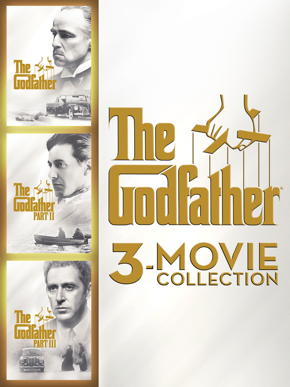 The Godfather 3-Movie Collection + Bonus Content