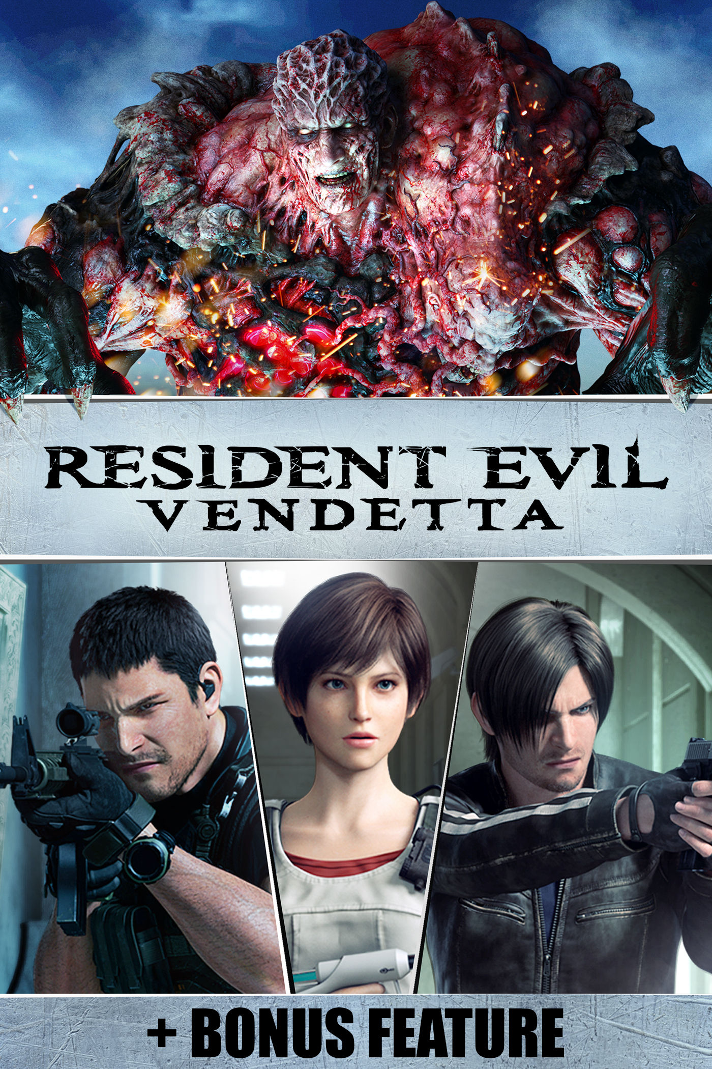 Resident Evil Vendetta (+ Bonus Feature)