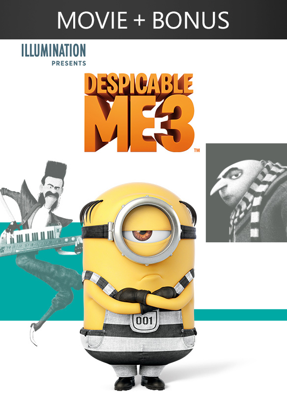 Despicable Me 3 + Bonus