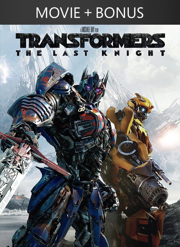 Transformers: The Last Knight (Digital) + Bonus