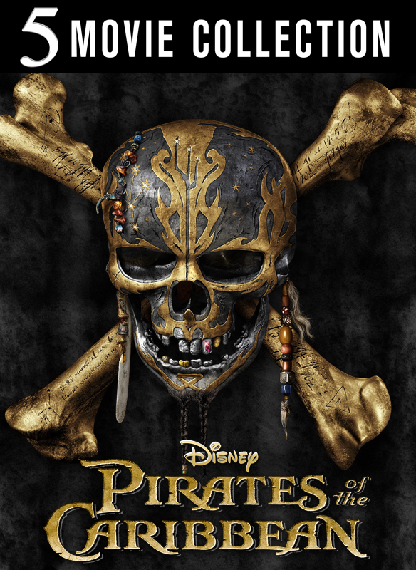 Pirates of the Caribbean 1-5 Film Collection