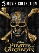 Pirates of the Caribbean 1-5 Film Collection 2017 From $55 99
