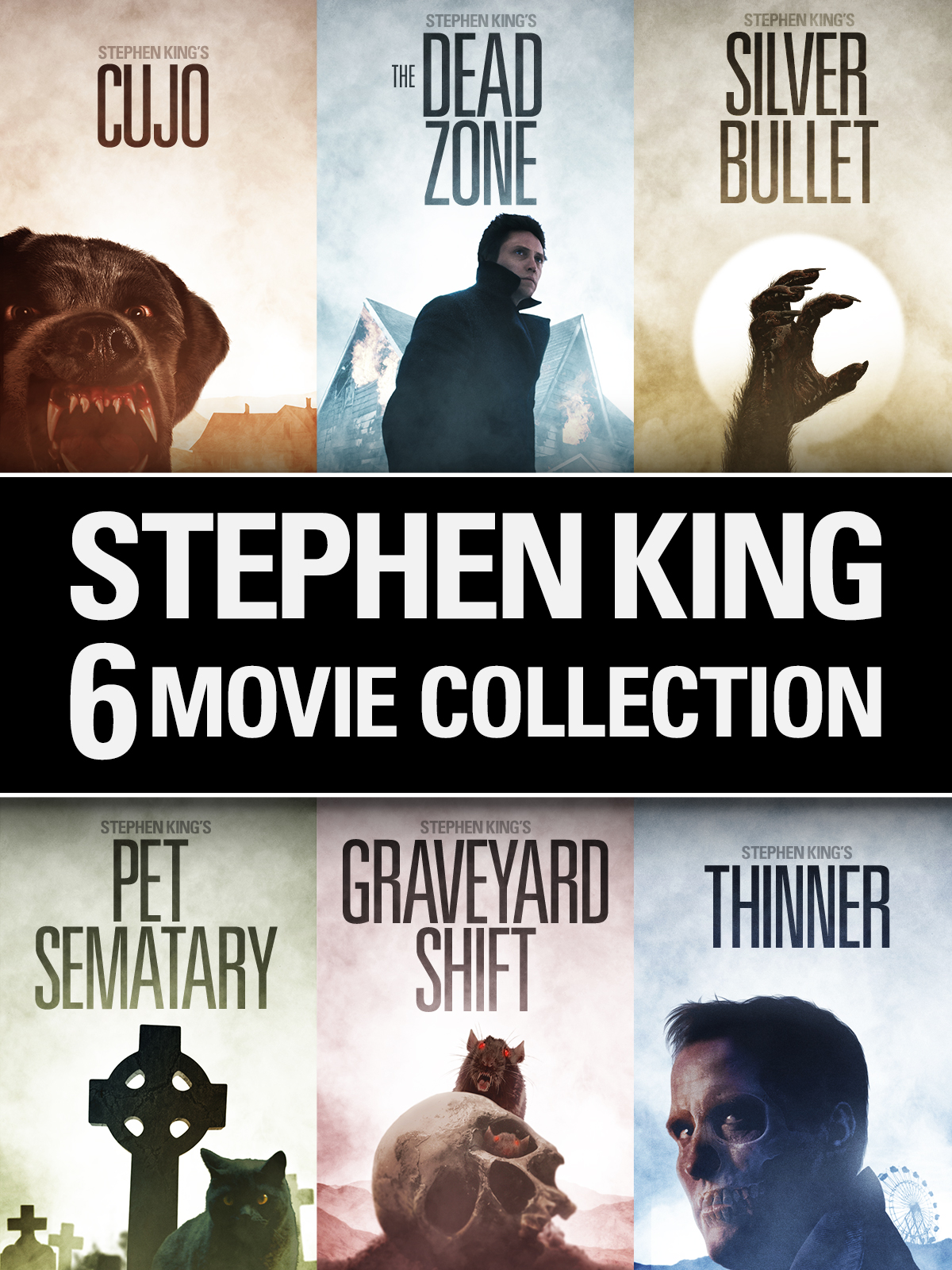 Stephen King 6-Movie Collection