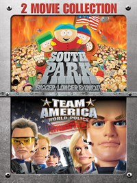 South Park: Bigger, Longer & Uncut/Team America: World Police 2-Movie Collection