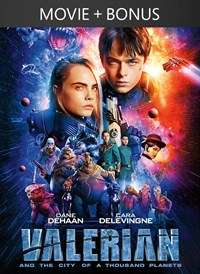 Valerian and the City of a Thousand Planets + Bonus