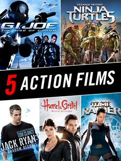 Genre 5 Movie Bundle – Action