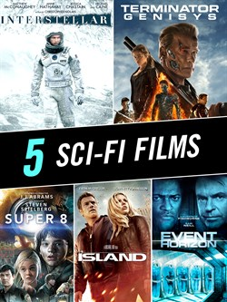 Genre 5 Movie Bundle – Sci-Fi