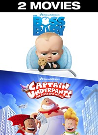 The Boss Baby/Captain Underpants 2-Movie Collection