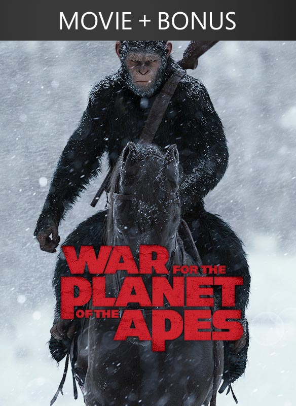 War for the Planet of the Apes + Bonus
