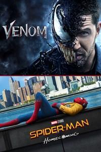 Pack 2 films : Venom + Spider-man Homecoming