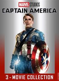 Captain America: Civil War / Captain America: The Winter Soldier / Captain America: The First Avenger (Bundle)
