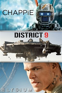 Neill Blomkamp: Chappie + District 9 + Elysium (Digital HD Films)