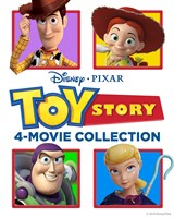 Deals on Toy Story 4-Film Collection 4K UHD Digital