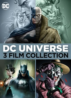 Batman Hush 3-Film Collection