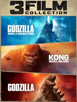 Godzilla & Kong 3-Film Collection