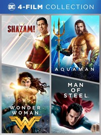 DC 4-Film Collection (2019) (4pk)
