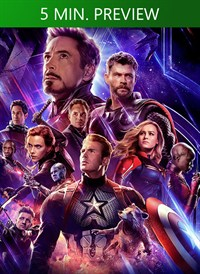 Avengers: Endgame UHD 5 Minute Preview