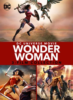 Wonder Woman Bloodlines 3-Film Collection